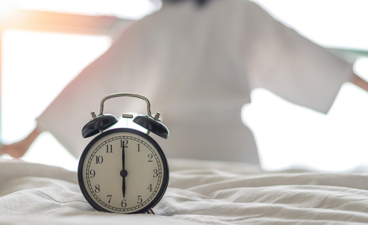 Lichaamsdelen hebben individuele circadiaanse ritmes die op dag en nacht reageren