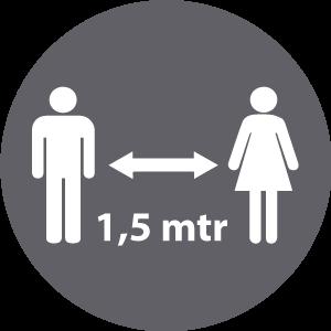 1,5 mtr
