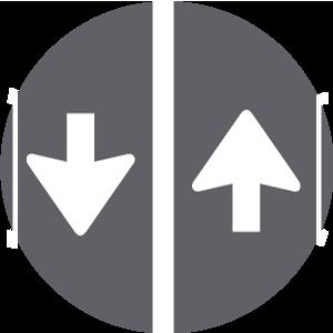 1 richting