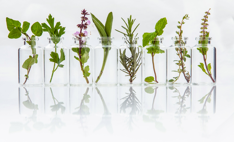 Essentiële oliën voor de huidgezondheid