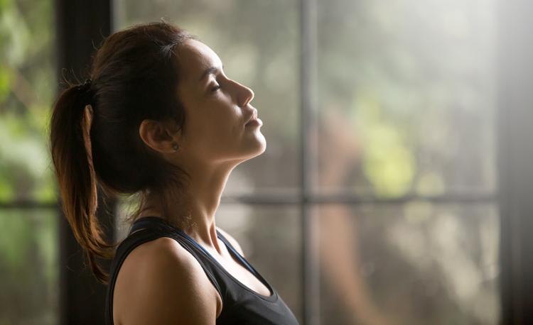 Meten van de mentale focus tijdens meditatie